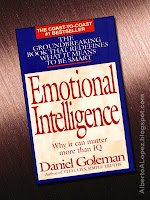 "Beauty shot picture of book by Daniel Goleman, ""Emotional Intelligence"", ""Why It Can Matter More Than IQ"""
