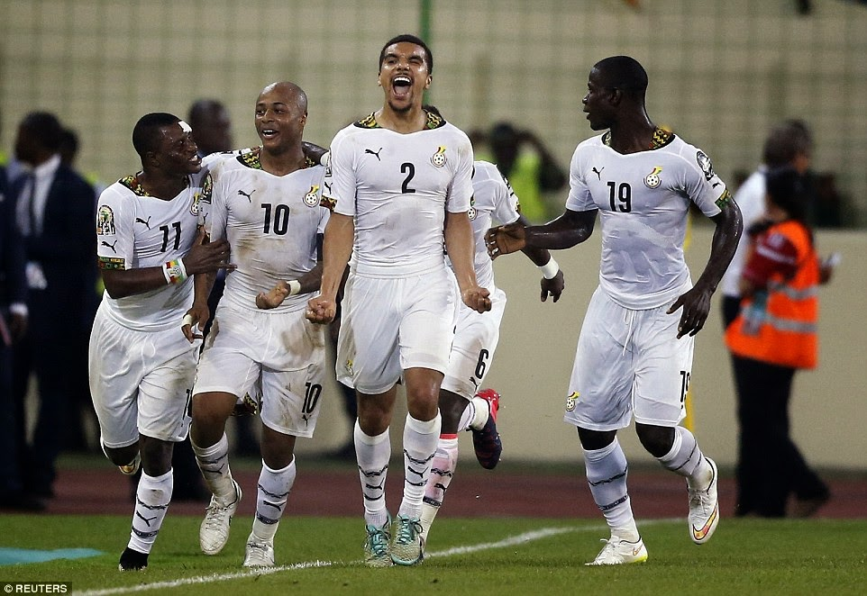 Africa Cup of Nations 2015, Ghana vs Ivory Coast