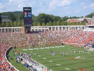 University of Virginia's Scott Stadium