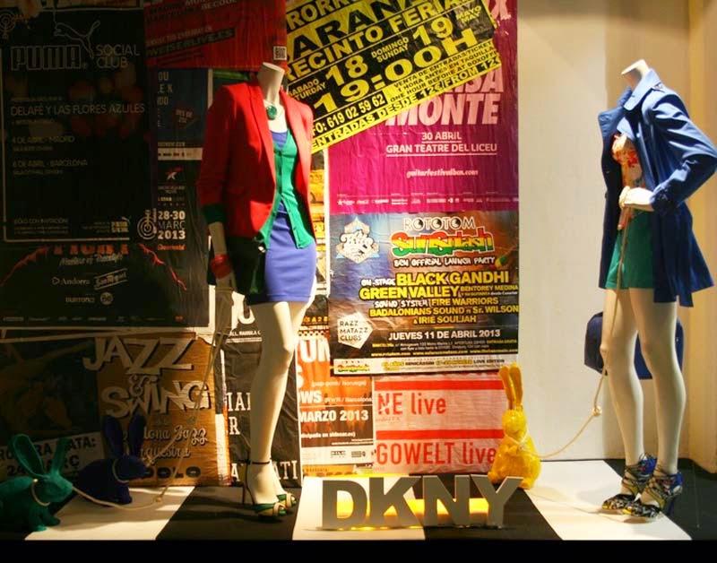 Ártidi: Escaparates de gran formato, DKNY