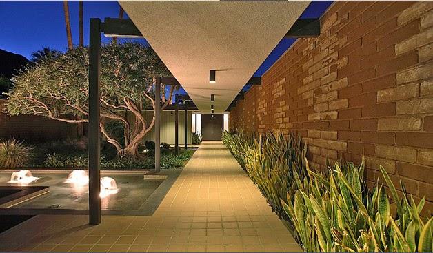 Fotos de la casa que adquirió Leonardo DiCaprio en Palm Springs 8
