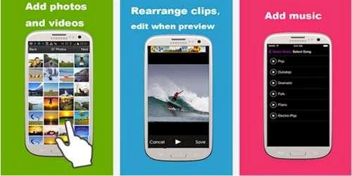 Cara Menggabungkan Gambar Menjadi Video Di Android
