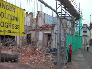 travellers joy public alehouse being demolished