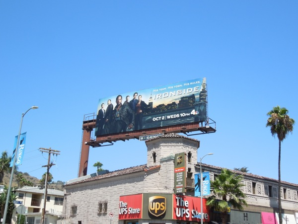 Ironside season 1 billboard