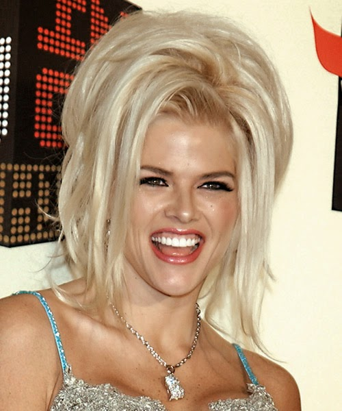 anna nicole smith hairstyles}