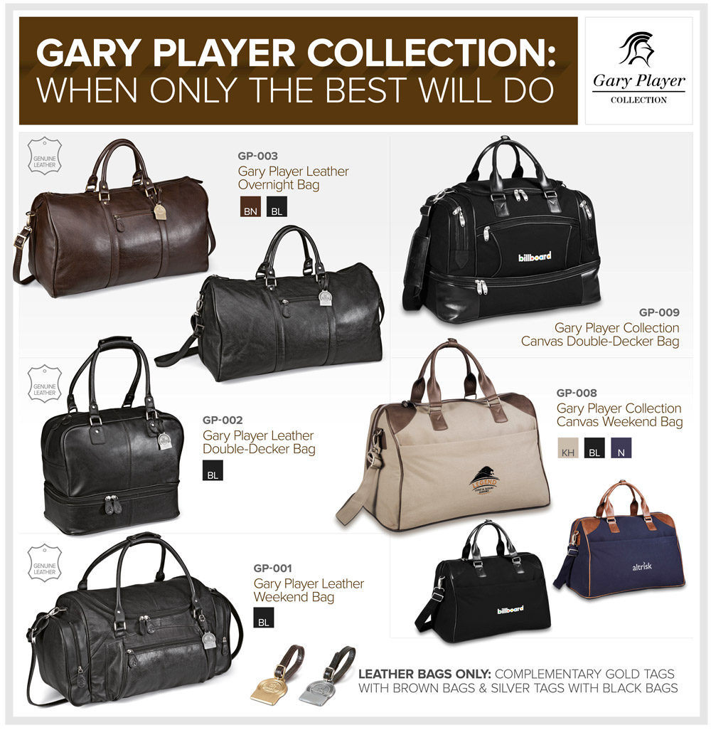 Gary Player Travel Bags