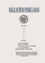 Contoh Cover Makalah Universitas Negeri Padang Erikotoh