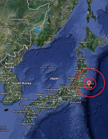 off the east coast of honshu, japan earthquake 2013 April 27