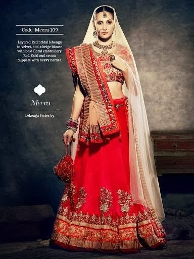 Latest And Stylish New Bridal Lehenga Collection 2014 For Women And Girls By Bismi Boutique