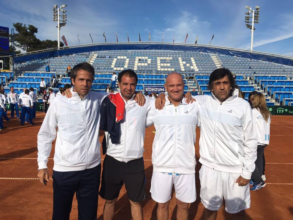 ITF Young Seniors Teams (M45) Umag Croacia 2016. Dubler Cup