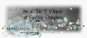 Winner - Top 3 at Fantasy Stampers