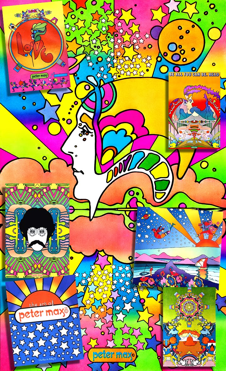 Studio of Style: July 2014 Peter Max 60s