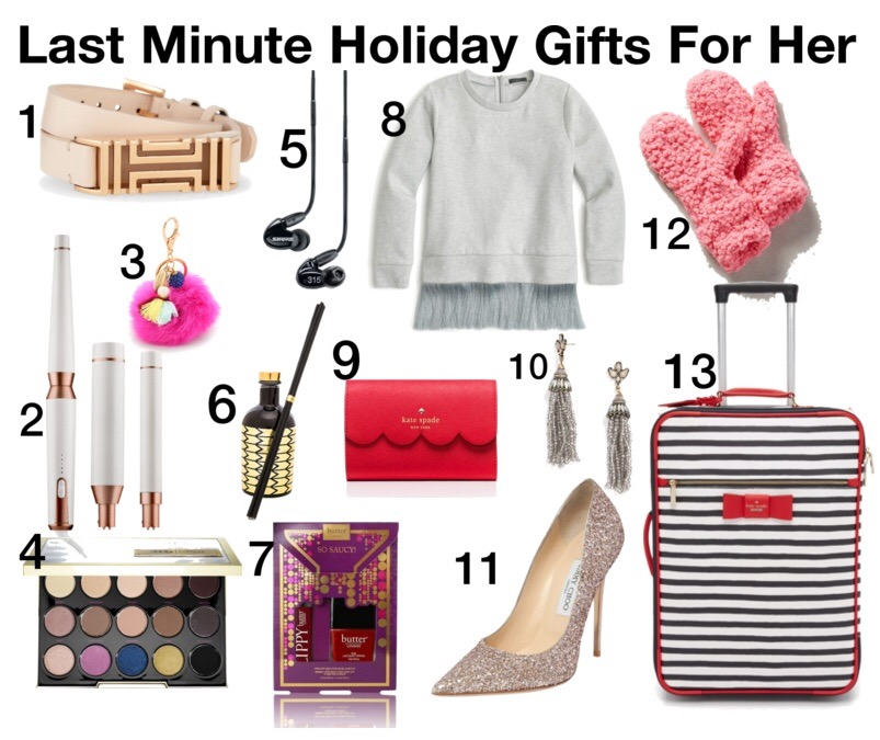 holiday gift shopping, holiday gift ideas, holiday gifts, gifts for her, fashion blog, holiday shipping deadlines