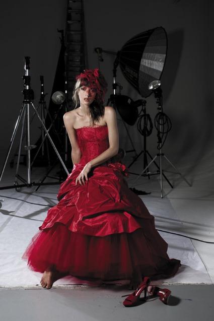 Robe de mariee rouge cymbeline