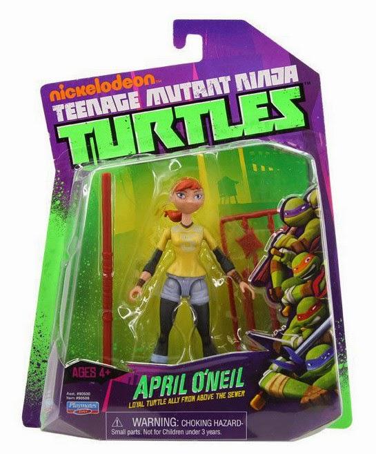 JUGUETES - LAS TORTUGAS NINJA  April O'Neil | Figura - Muñeco | Básica Serie 1  Producto Oficial | Playmates | A partir de 4 años