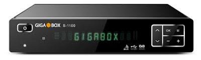 GIGABOX S-1100 (V 1.25) ATUALIZAÇÃO - 30/11/2015