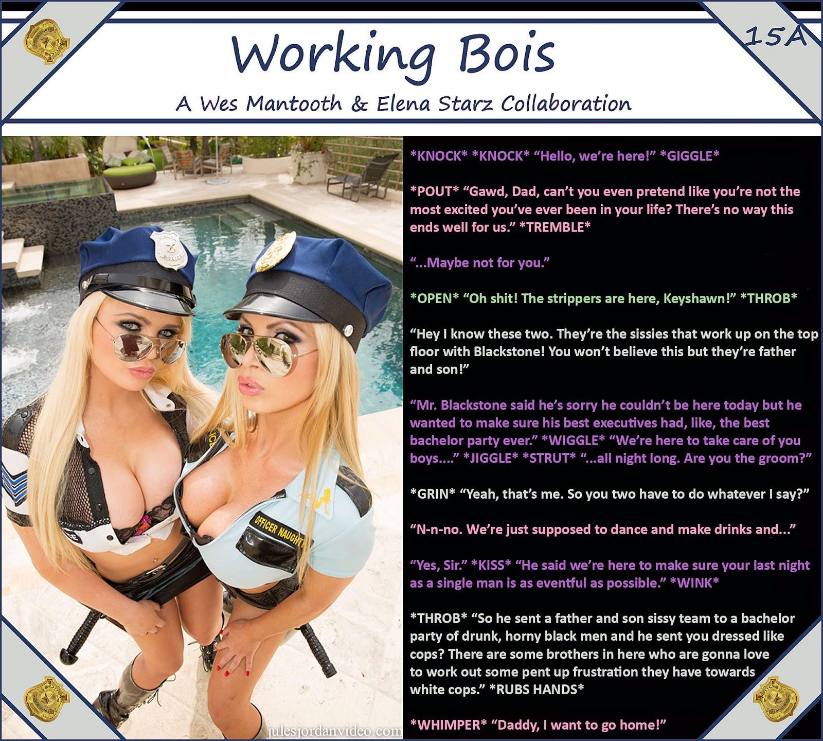 porn White captions bbc sissy