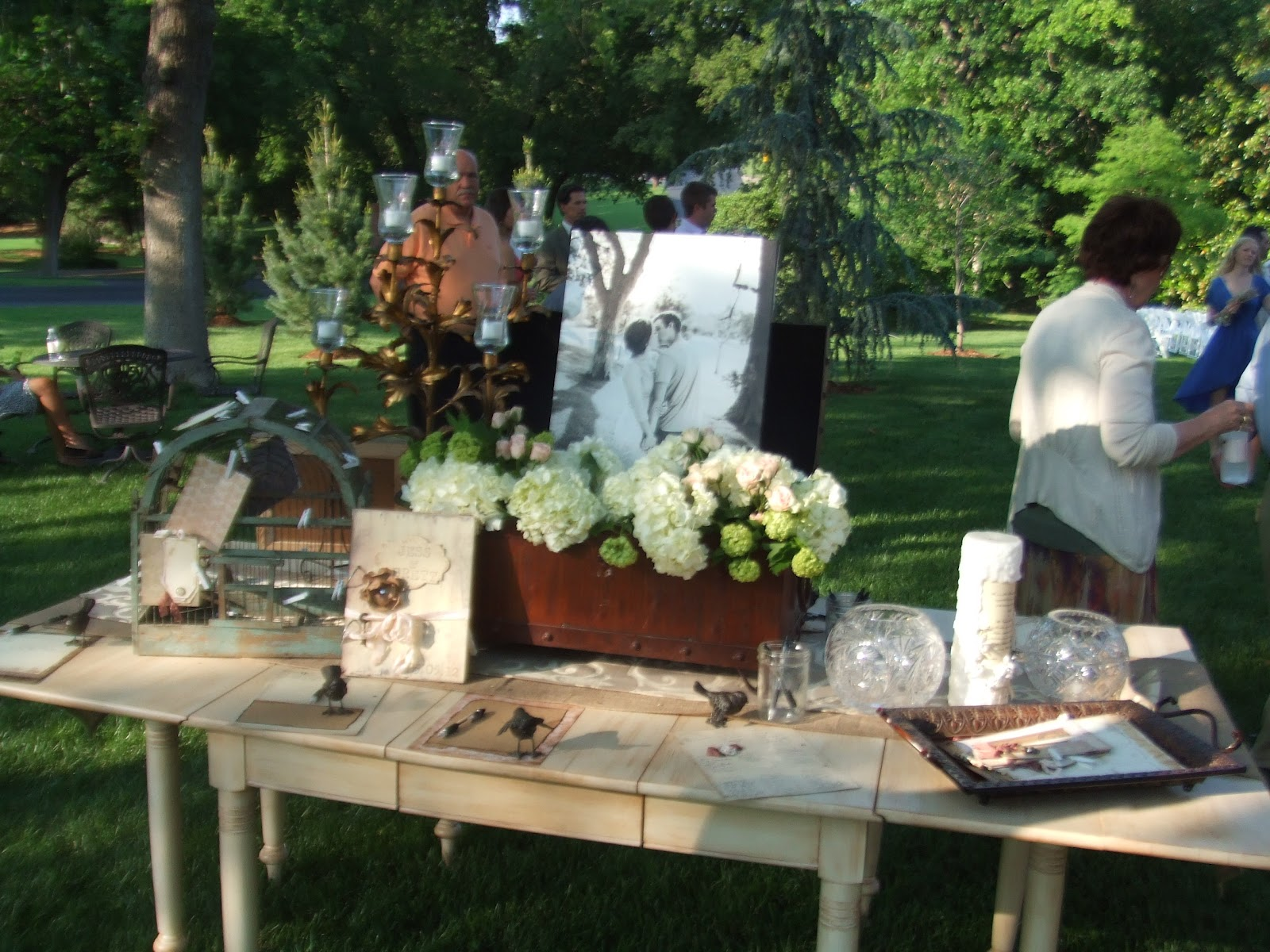 wawawaughs one of the most beautiful backyard weddings