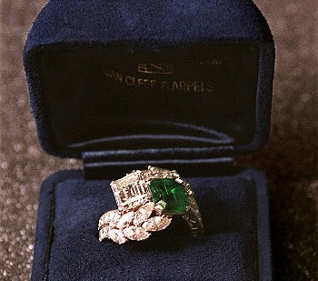 Jackie's Engagement Ring (I weep)
