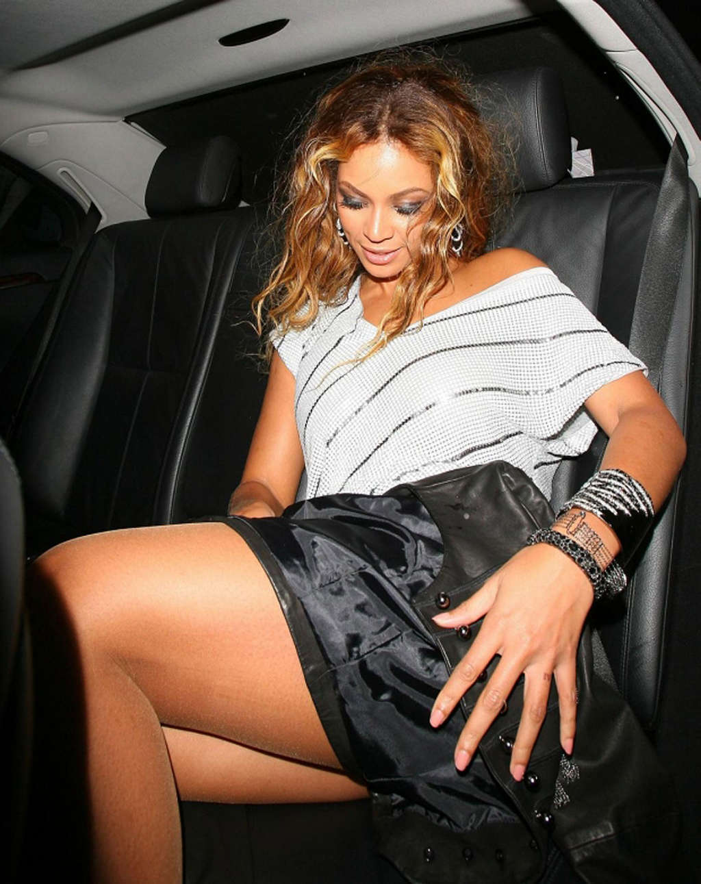 Vagina her beyonce flashes knowles