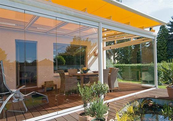 Sweet Home Contemporary Modern Glass Outdoor Patio Design Ideas