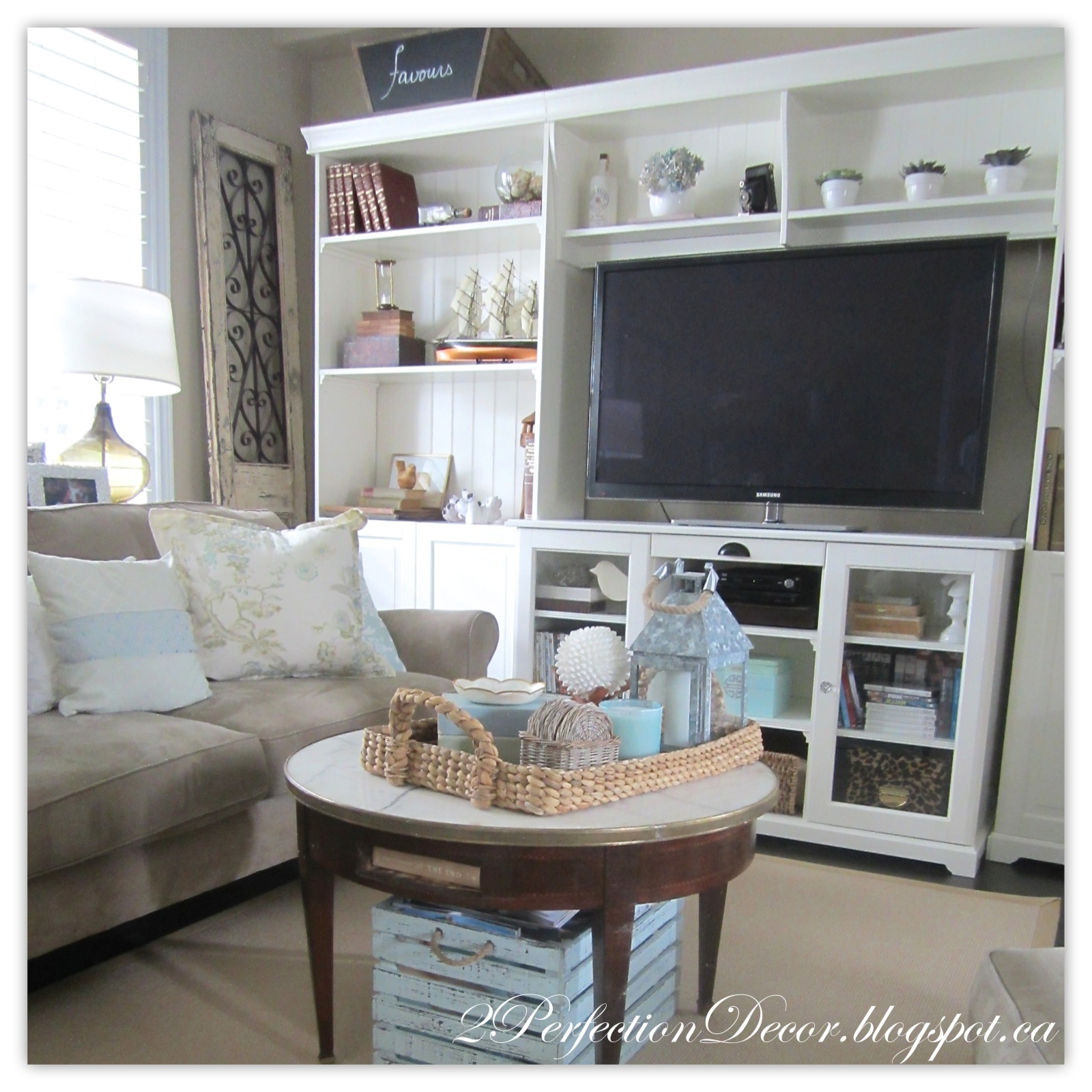 2perfection Decor Our Summer Living Room