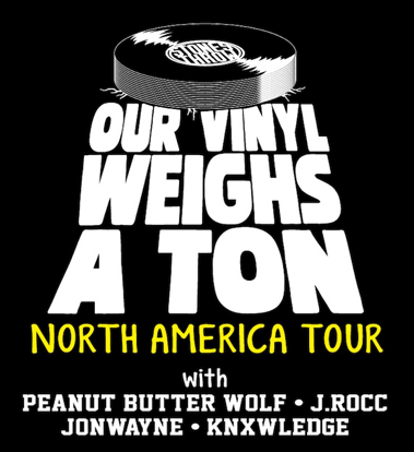 Our Vinyl Weighs A Ton Tour @ CODA, Thursday