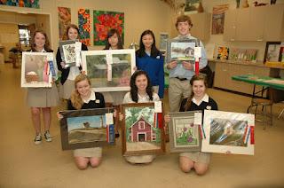 Montgomery Catholic Student Artwork Wins at Alabama National Fair 1