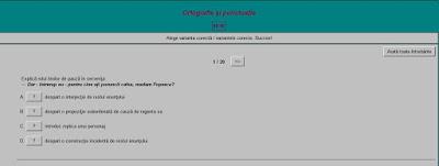 http://www.blog.meditatiilaromana.ro/index.php/2015/06/18/test-de-ortografie-si-punctuatie-pentru-evaluarea-nationala/