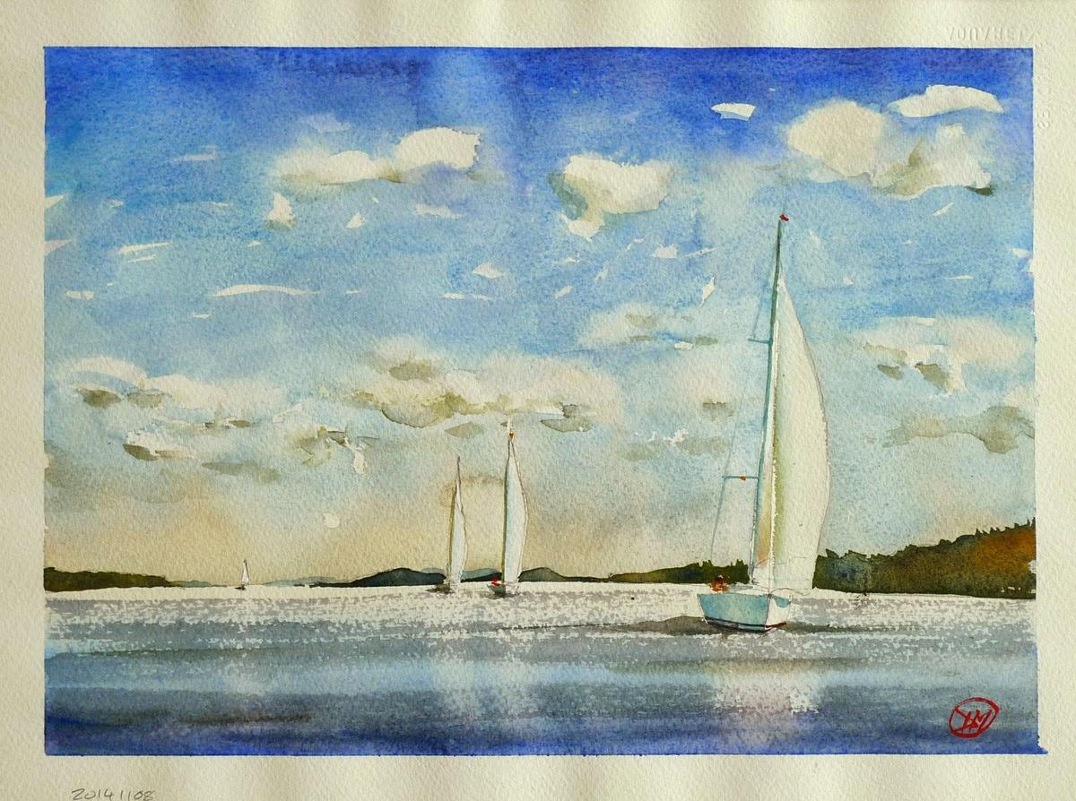 Cruising in the archipelago by David Meldrum