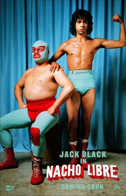 Two Black Wrestle Jack