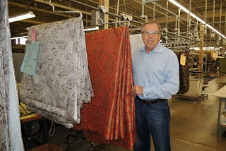 Dick Gentry, Wesco Fabrics, custom workroom, artisans