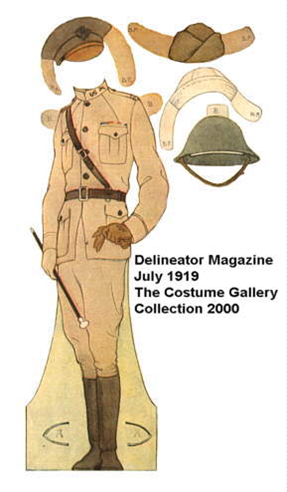 Costume Textile And Fashion Influence Of World War I