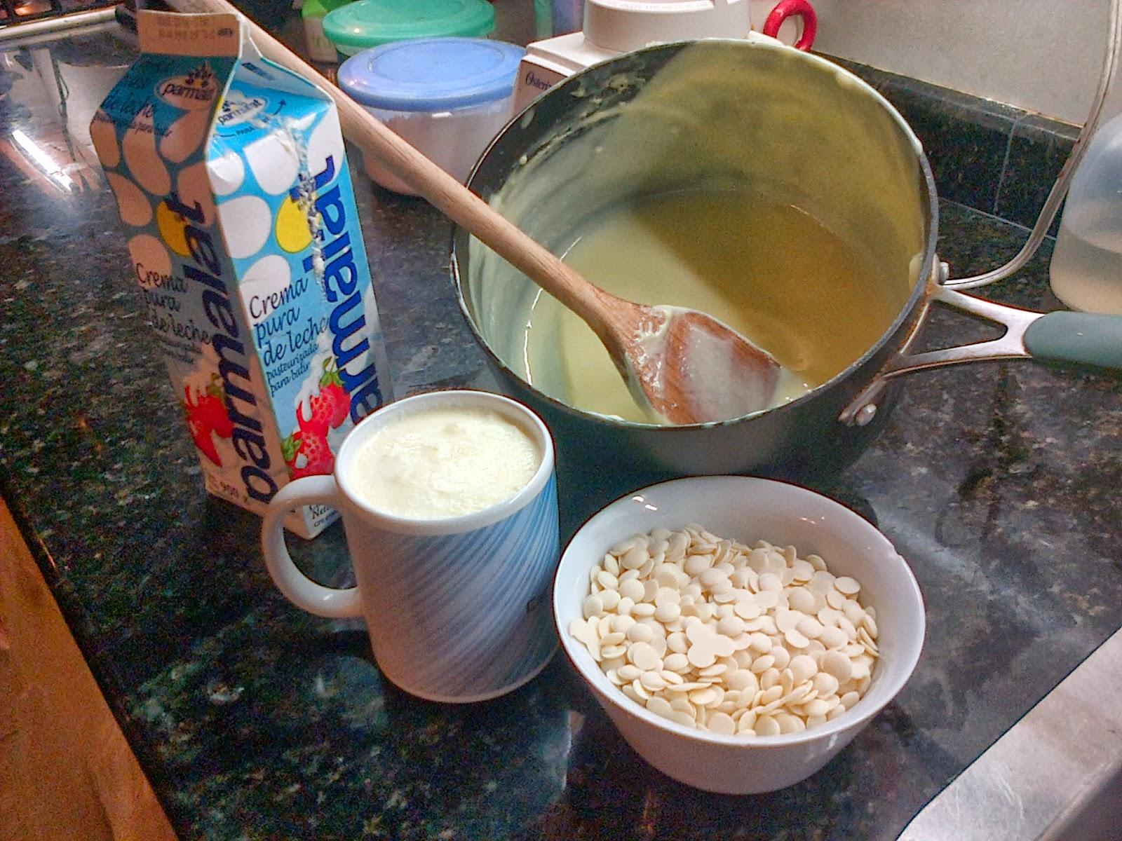 Pitasrock recetas musica y kefir pastel de chocolate y for Hoya para cocinar