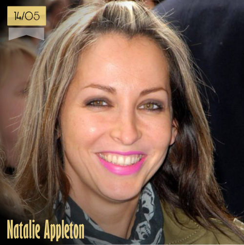 14 de mayo | Natalie Appleton - @NatAllSaints | Info + vídeos