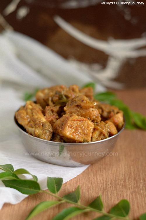 Delicious chicken curry