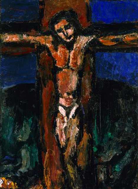 eloi eloi lama sabachthani  dans images sacrée mygod%2Brouault-crucifixion