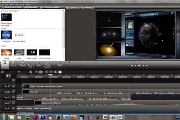 تحميل برنامج الكتابة على الفيديو Download Camtasia Studio 8