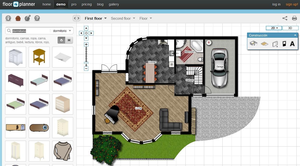 Perenqueando crear planos de formas online y gratis for Aplicacion para hacer planos