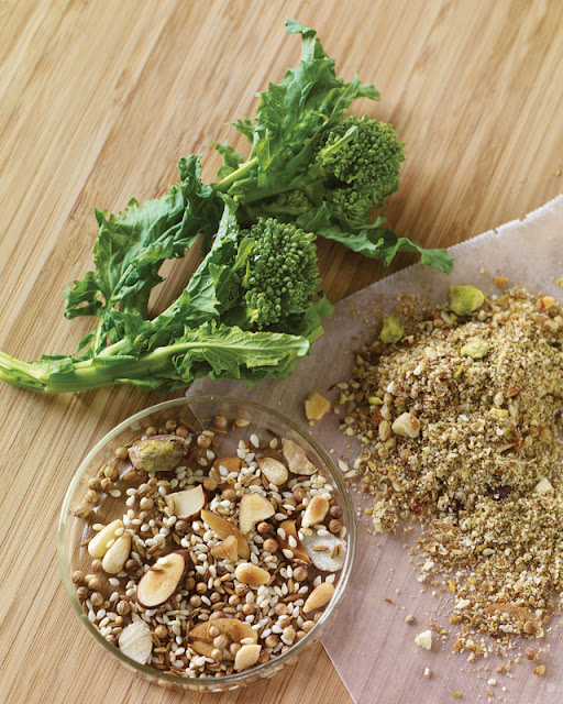 McCormick Flavor Forecast 2013 Market Fresh Broccoli and Dukkah dishes
