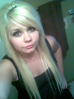 emo hairstyles for girls with long blonde hair part 01