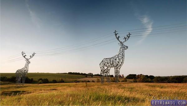 gambar menara pencawang elektrik unik kreatif