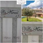Villa Nonni: Oslikane tabele putokazi za vilu