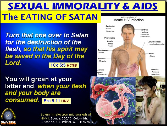 Sexual immorality in bible