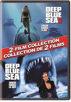 Deep Blue Sea Coleccion DVD R1 NTSC Latino