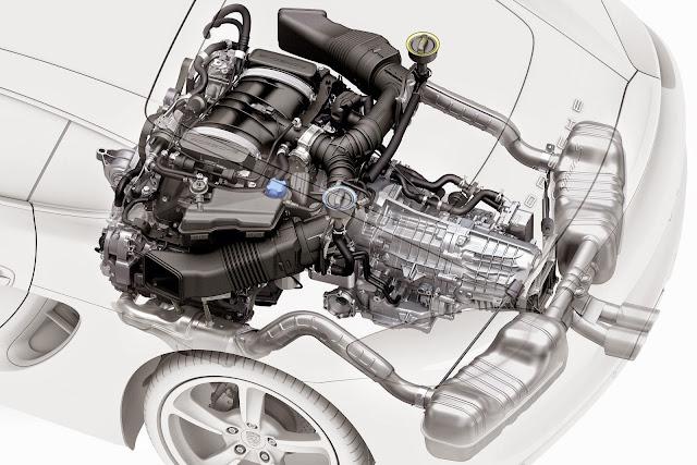 2016 Porsche Panamera Engine