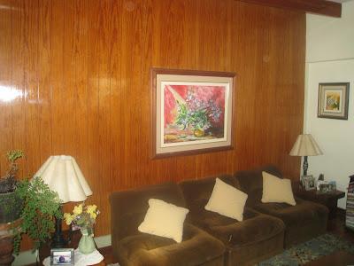 Decoraci n de casas paredes recubiertas de madera - Laminas para decorar paredes ...