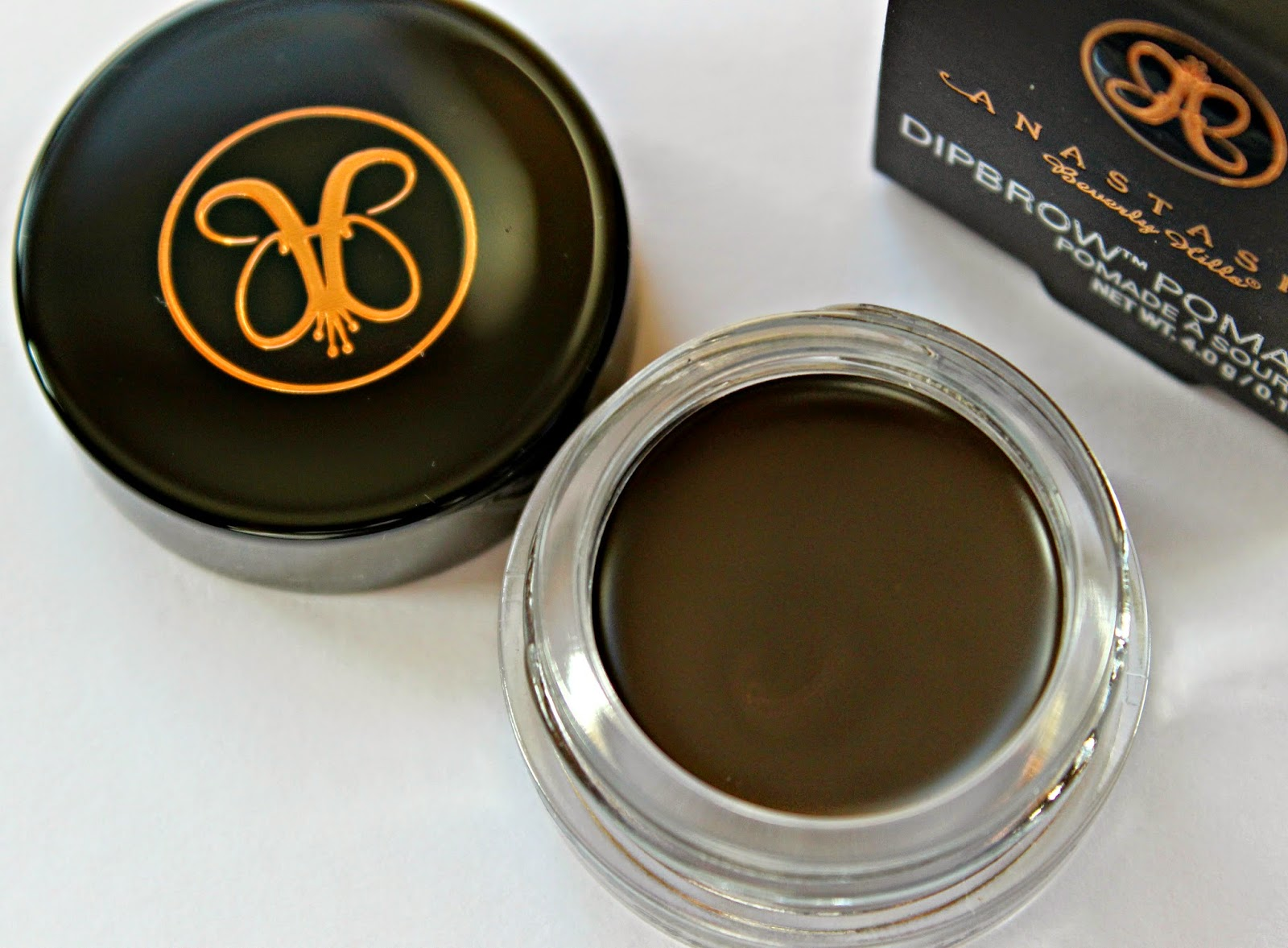 A picture of the Anastasia Dipbrow Pomade in Ebony
