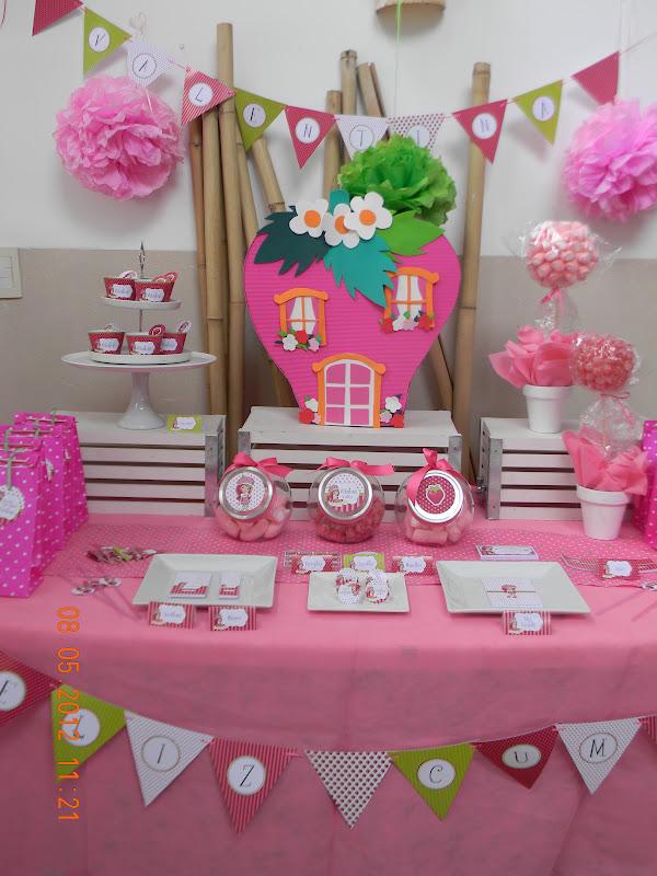 Cumpleaños infantiles tematicos frutillitas - Imagui