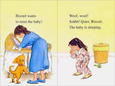 excerpt #1 from BISCUIT AND THE BABY  by Alyssa Satin Capucilli
